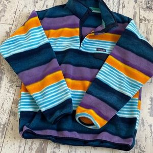 Men's Patagonia Fleece Pullover, Size Large